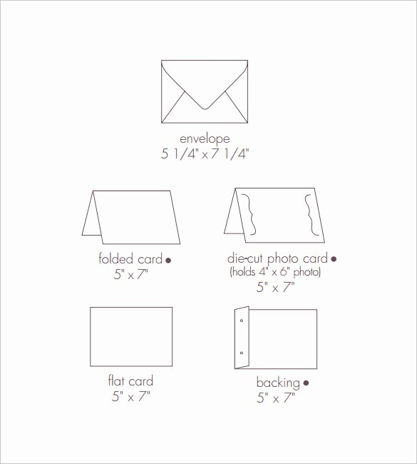 5x7 Envelopes Template Word Lovely Free Printable 5x7 Envelope Template Design Templates