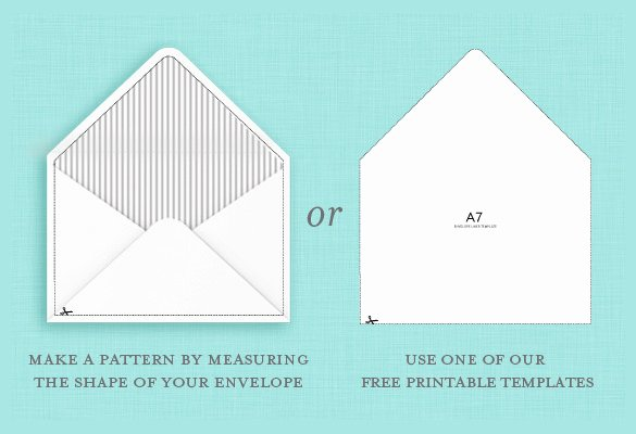 5x7 Envelopes Template Word Unique 9 A7 Envelope Templates Doc Psd Pdf