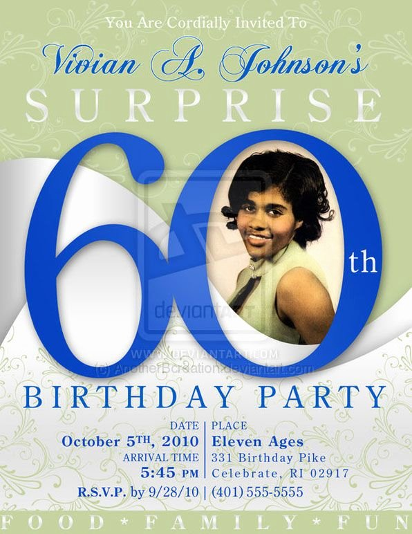60th Birthday Cards Free Printable Elegant 60 Birthday Party Invites