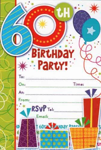 60th Birthday Cards Free Printable Elegant Free Printable 60th Birthday Invitations – Free Printable