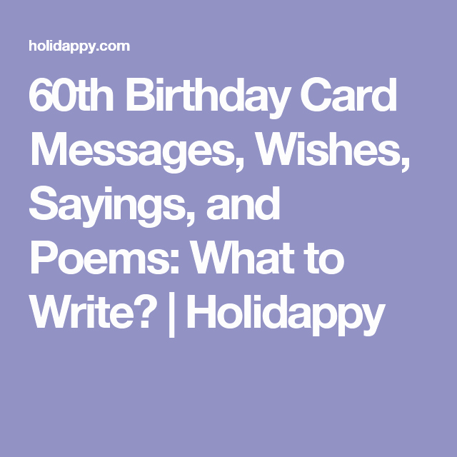 60th Birthday Cards Free Printable Lovely 60th Birthday Card Messages Wishes Sayings and Poems