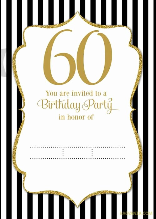 60th Birthday Cards Free Printable Unique Best 20 60th Birthday Invitations Ideas On Pinterest