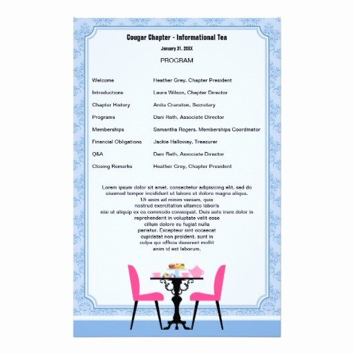 60th Birthday Party Programme Template Beautiful 13 Best S Of Printable Birthday Party Program