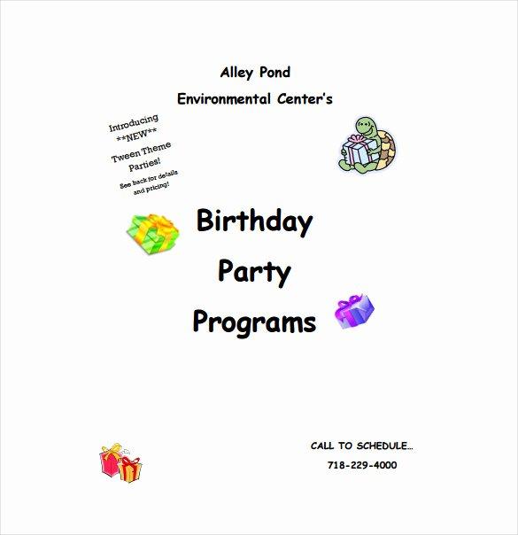 60th Birthday Program Sample Inspirational 50th Birthday Party Program Template Impremedia