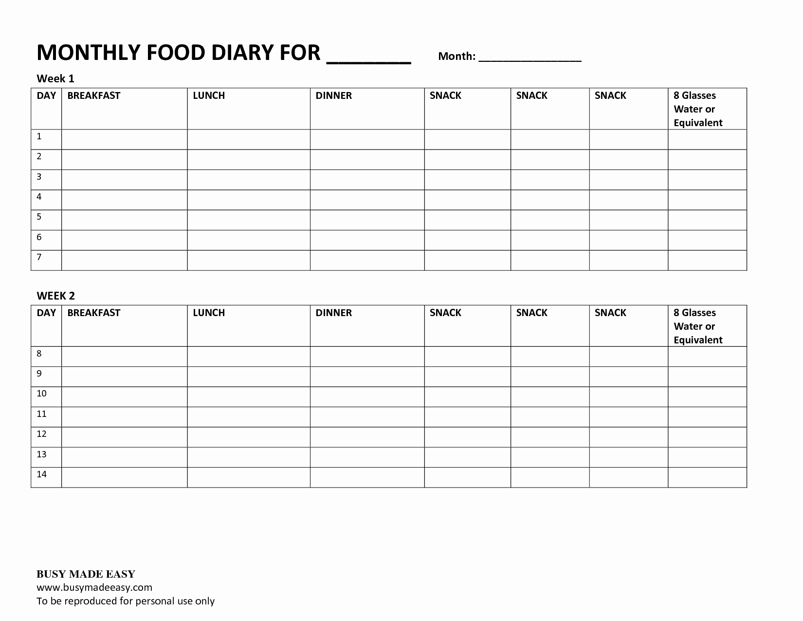 7 Day Food Diary Template Beautiful Best S Of 3 Day Food Record Template 3 Day Food Log