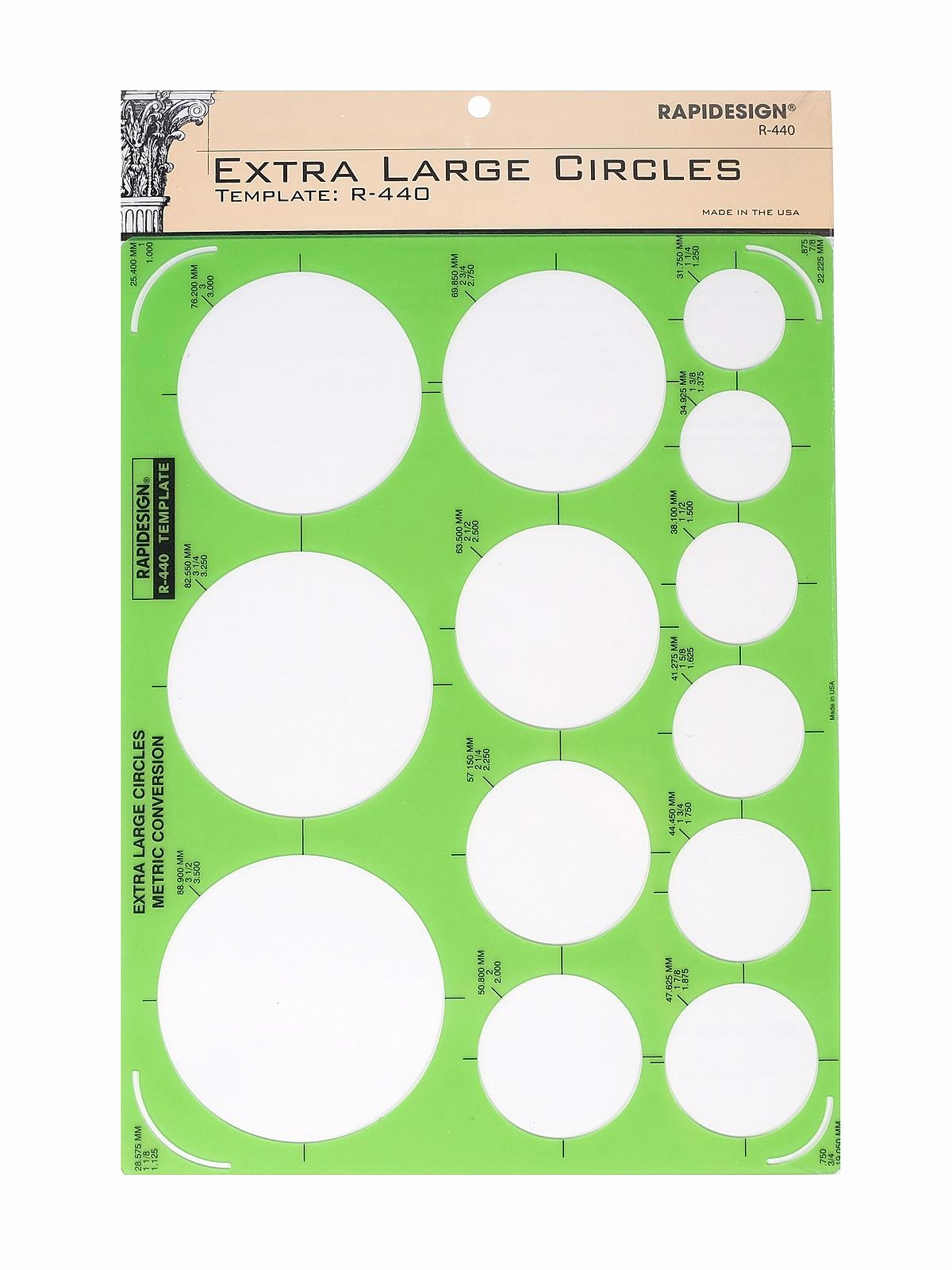 7 Inch Circle Template Beautiful Rapidesign Circle Drafting Templates