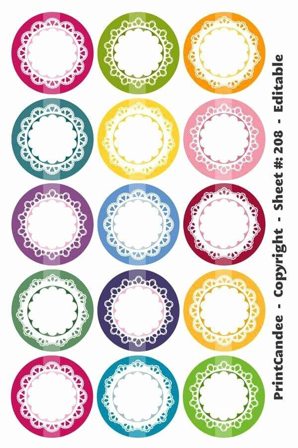7 Inch Circle Template Unique 17 Best Round Labels and Round Label Template Printables