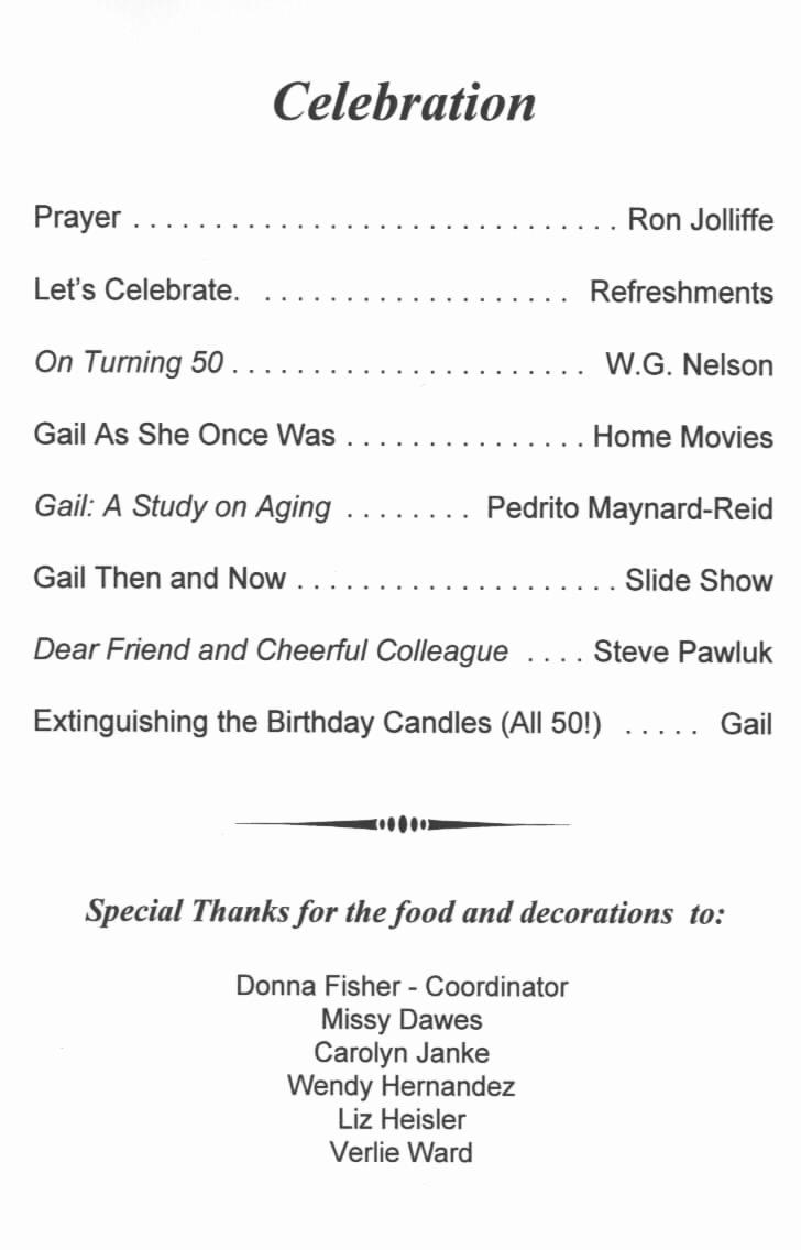 80th Birthday Party Program Beautiful Best S Of for Birthday Dinner Program Sample