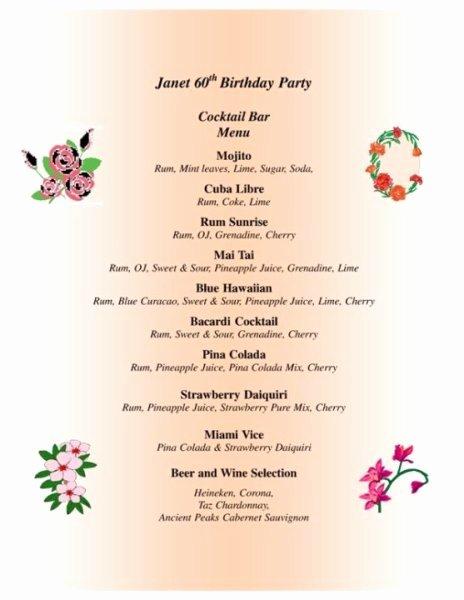 80th Birthday Party Program Inspirational 28 Of 60th Birthday Party Program Template