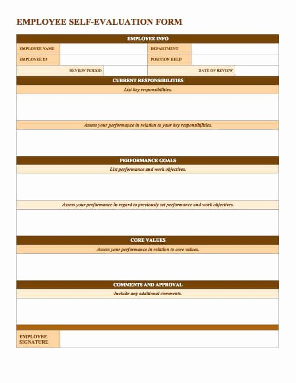 90 Day Evaluation forms Awesome Free Employee Performance Review Templates Smartsheet