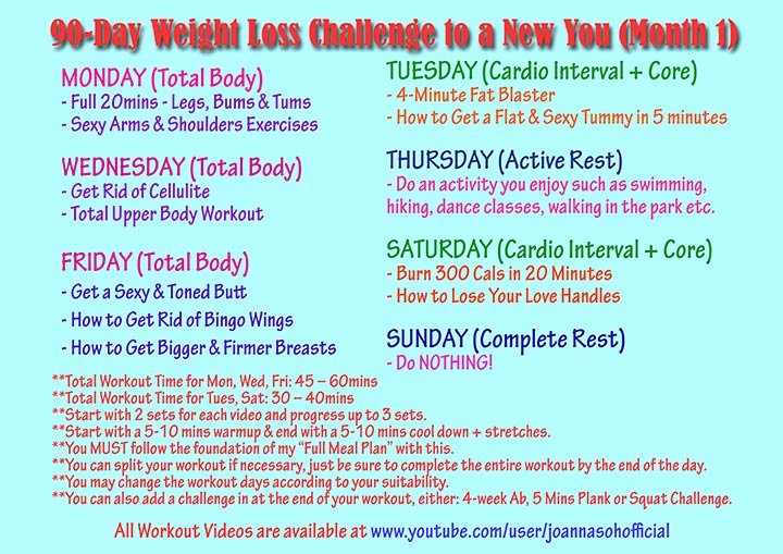 90 Day Workout Plan Unique 90 Day Weight Loss Plan