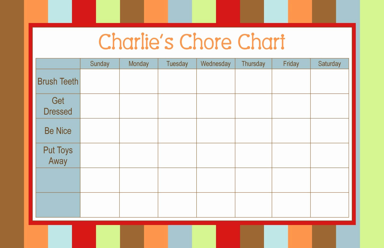A List Of Chores Unique Developing Lifeskills Chores the Autism Munity In