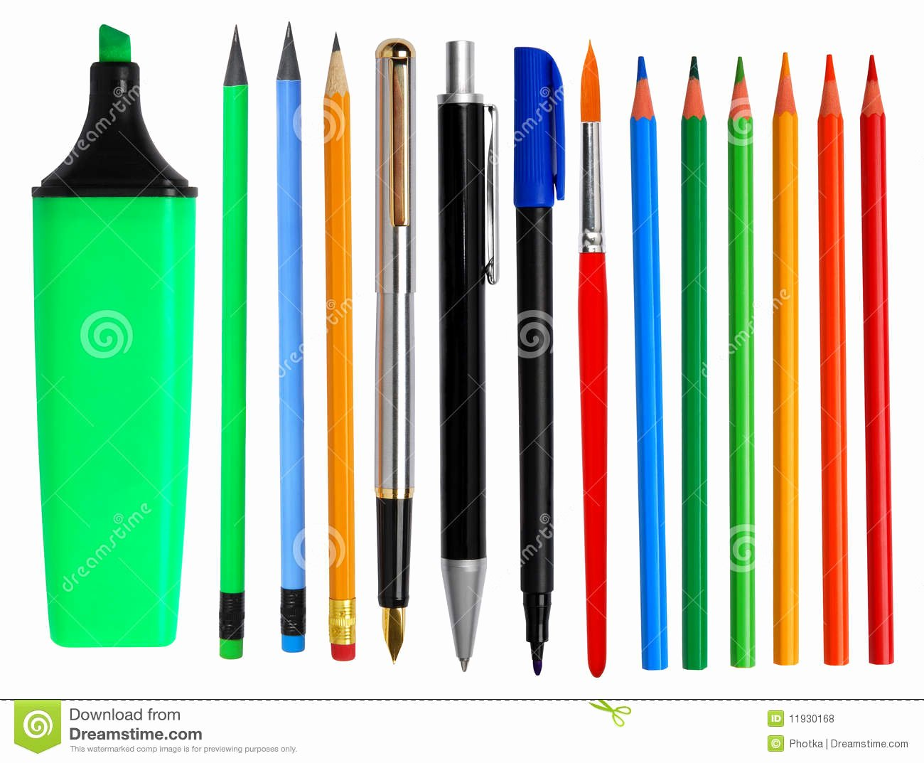 A Picture Of A Pencil Inspirational Pens and Pencils Stock Photo Image Of School Instrument