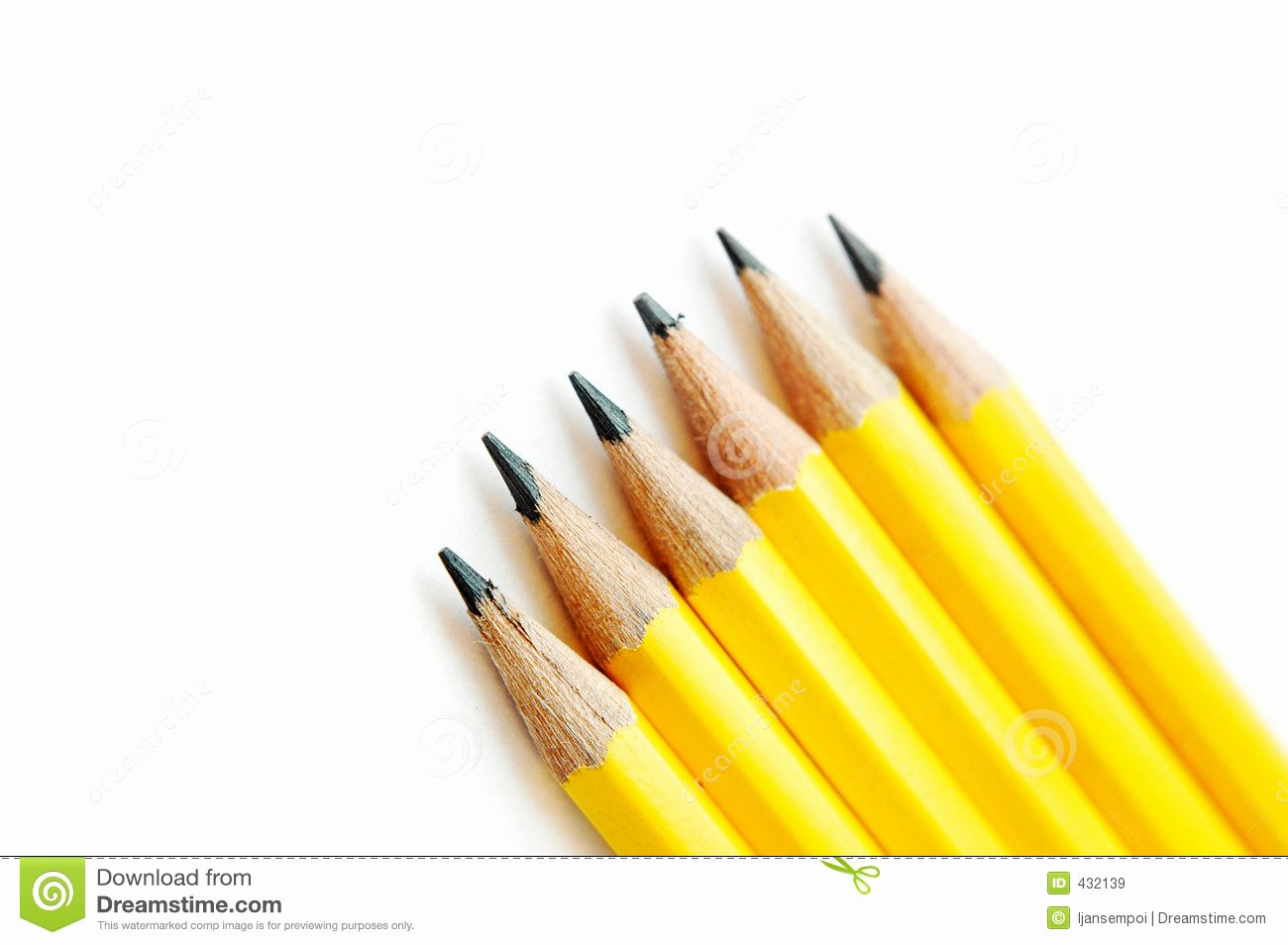 A Picture Of A Pencil New Yellow Pencils Stock Image Image Of Object Office