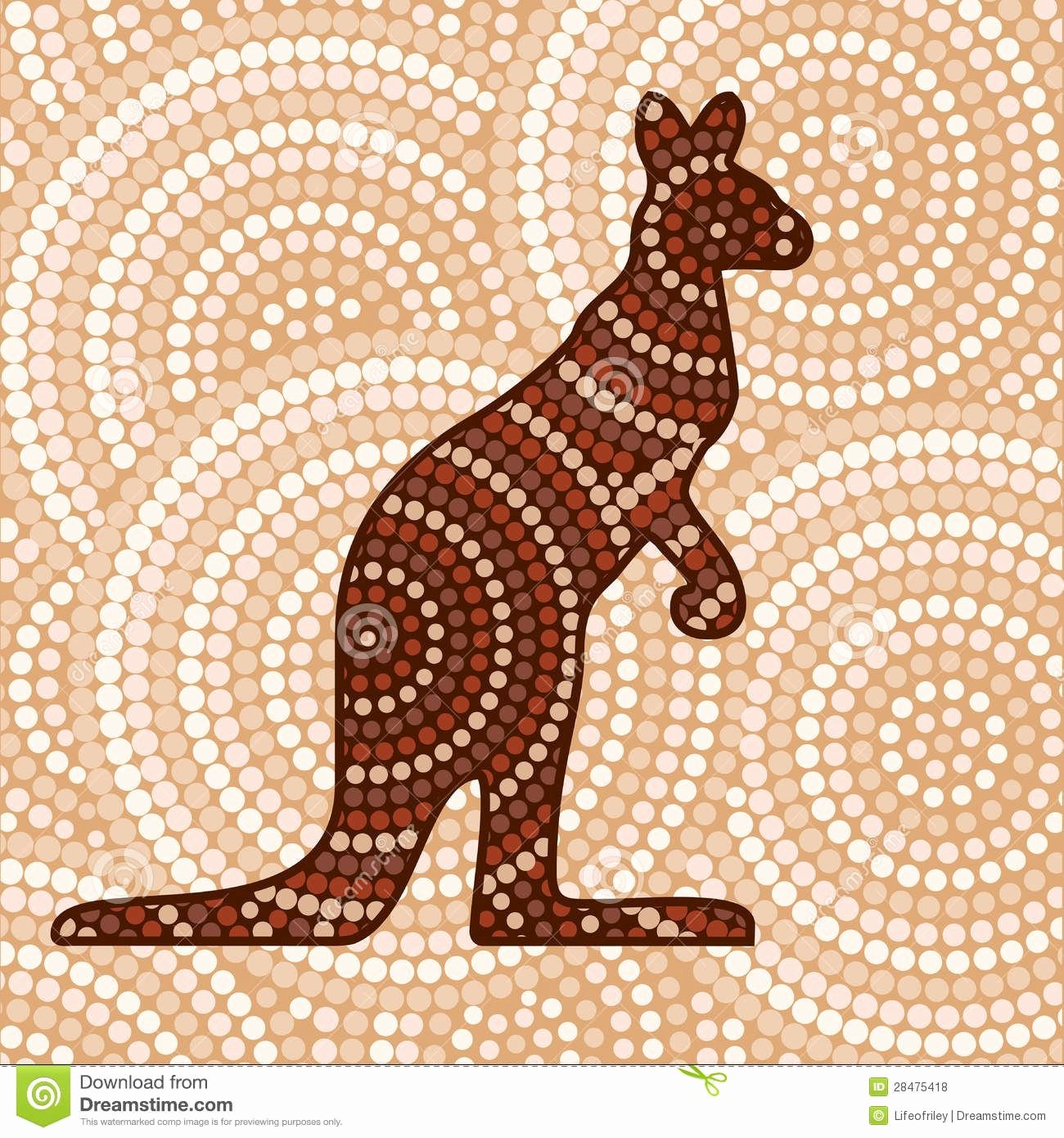 Aboriginal Dot Painting Templates Beautiful Aboriginal Stock Illustrations Vectors & Clipart