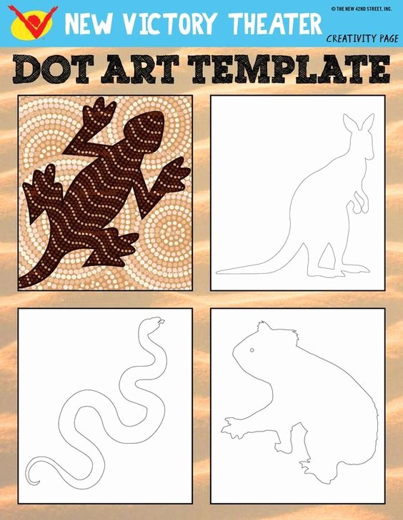 Aboriginal Dot Painting Templates Best Of Aboriginal Art torres Strait islanders and songs On Pinterest