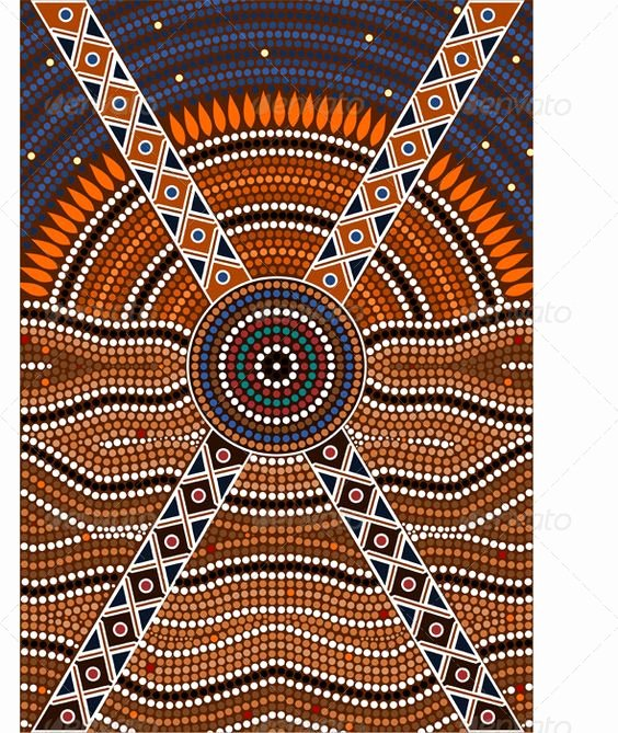 Aboriginal Dot Painting Templates Elegant Aboriginal Dot Art Templates
