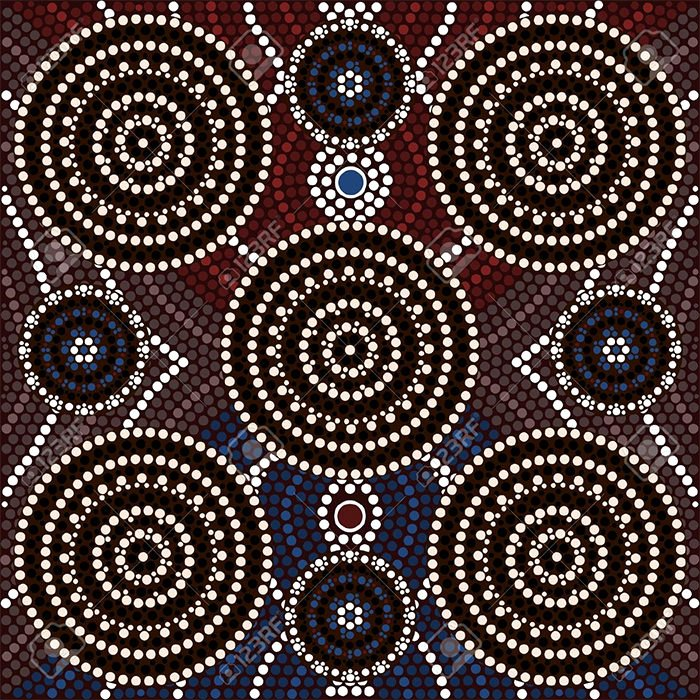 Aboriginal Dot Painting Templates Lovely Aboriginal Art Aboriginal