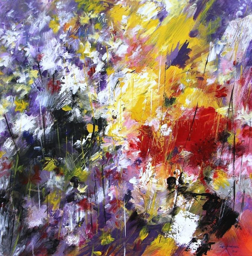 Abstract Pictures Of Flowers Fresh 20 Collection Of Abstract Flower Paintings