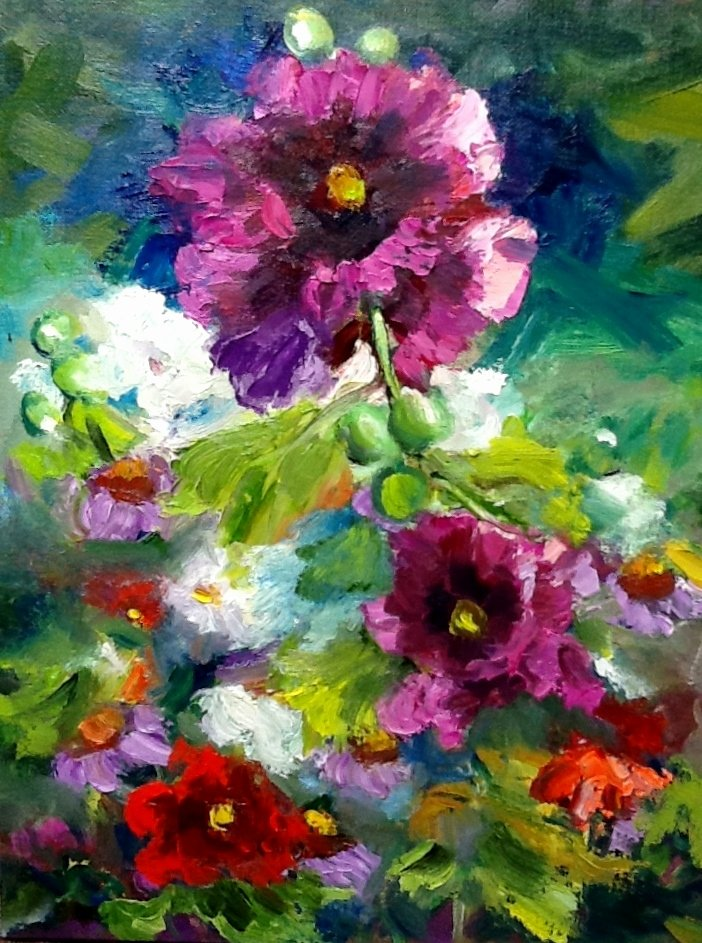 Abstract Pictures Of Flowers Fresh Lunell Gilley Art Pinterest