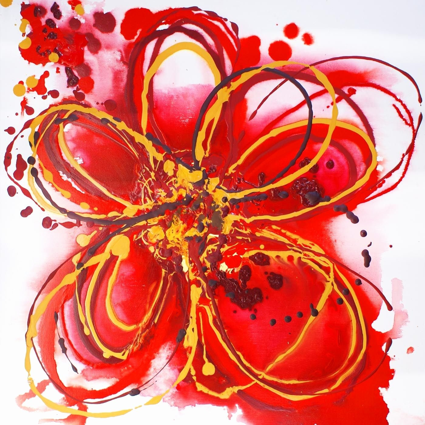 Abstract Pictures Of Flowers Luxury Abstract Flower Paintings