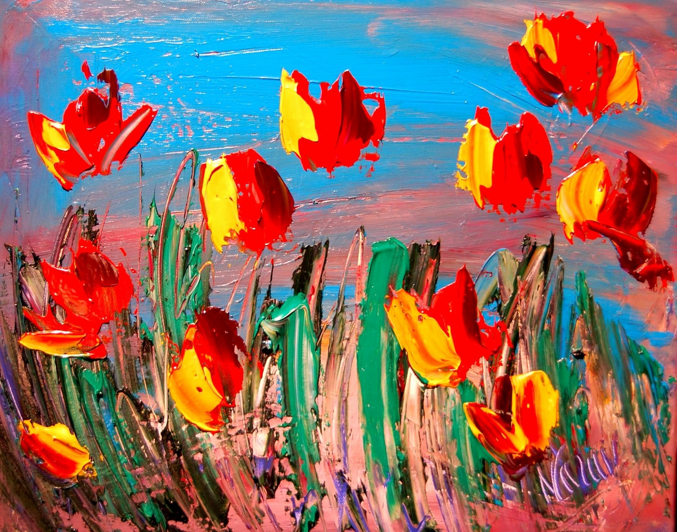 Abstract Pictures Of Flowers New 15 Abstract Art Paintings