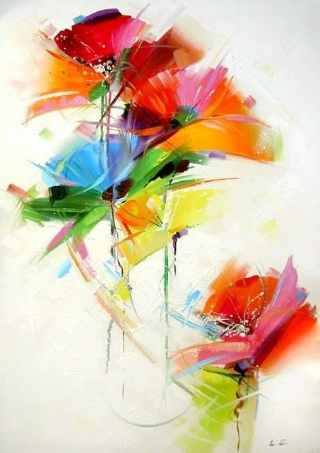 Abstract Pictures Of Flowers New 25 Best Ideas About Abstract Flower Paintings On