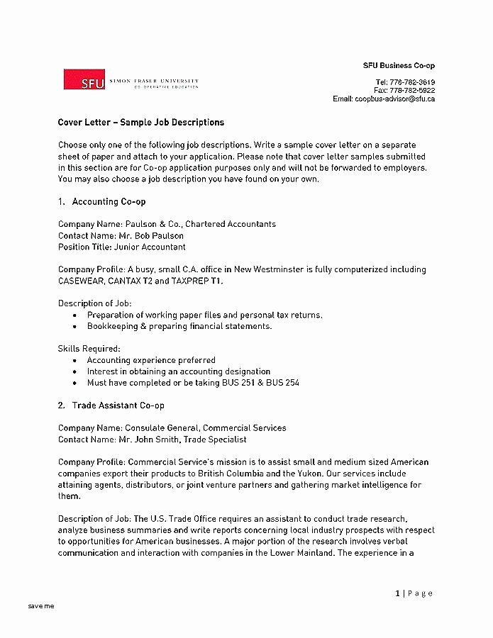 Accountant Cover Letter Sample Inspirational 12 13 Accounting Manager Cover Letter Samples