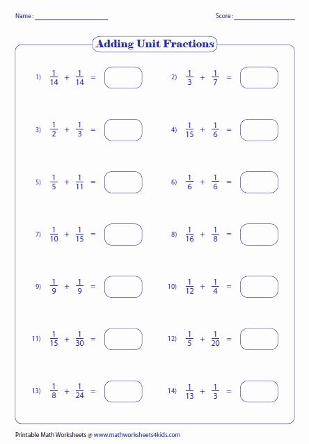 Adding Fractions Worksheet Best Of Adding Fractions Worksheets