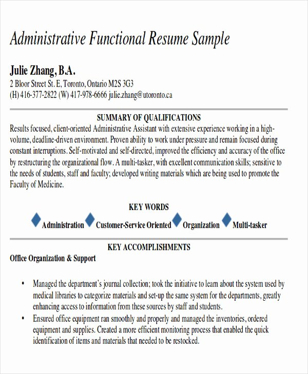 Administrative assistant Resume Objective Fresh 7 Examples Of Career Objective Examples In Word Pdf