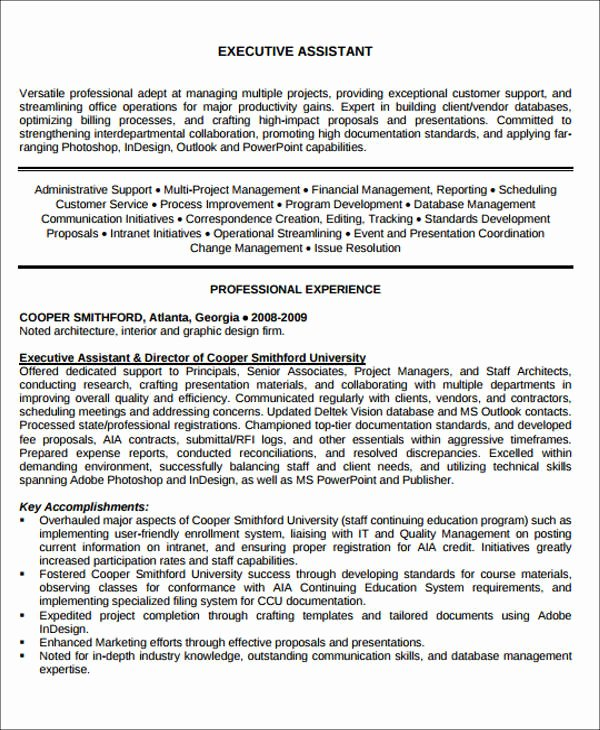 Administrative assistant Resume Objective Fresh Administrative assistant Resume Objective 6 Examples In
