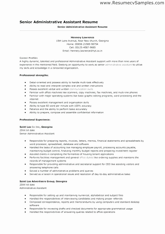 Administrative assistant Resume Objective Unique Objective for Office assistant Resume – Skinalluremedspa