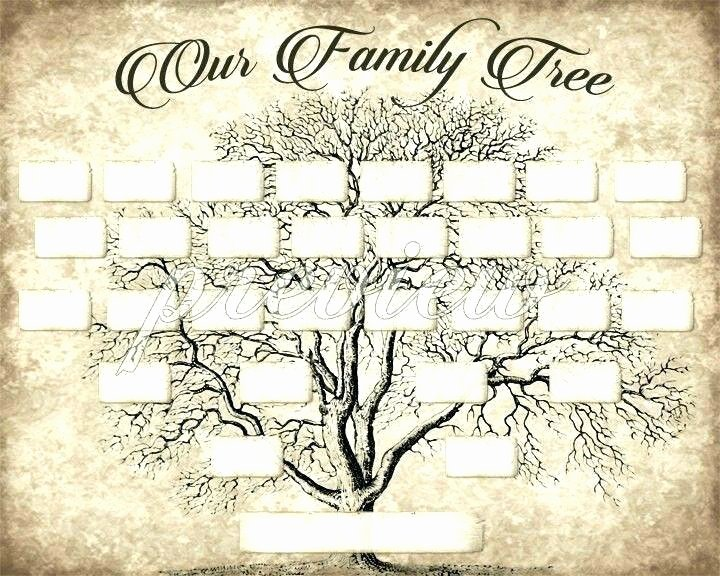 Adoption Family Tree Template Beautiful Printable Family Tree Template – Dereptilesfo
