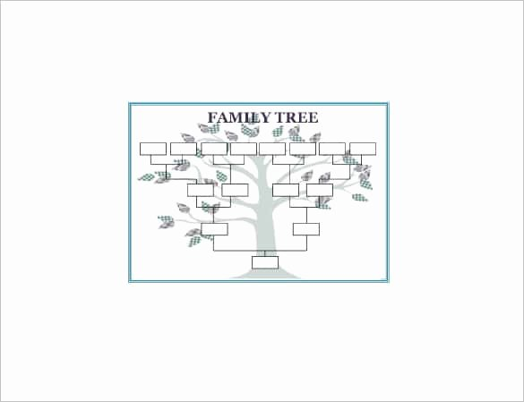 Adoption Family Tree Template New Simple Family Tree Template 27 Free Word Excel Pdf