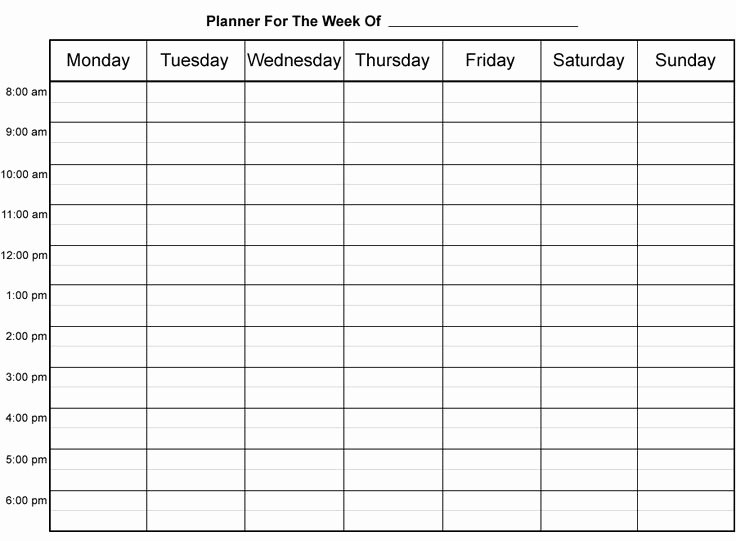 Agenda with Time Slots Best Of Best 25 Weekly Planner Template Ideas On Pinterest