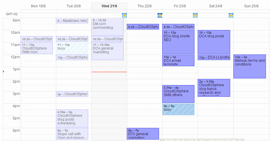 Agenda with Time Slots Fresh How to Use Google Calendar for Better Time Management