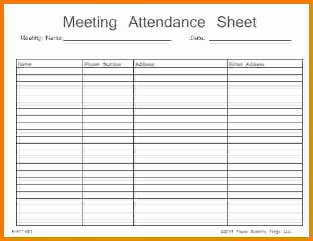 Alcoholics Anonymous attendance form Lovely Aa Meeting attendance Sheet Free Download Aashe