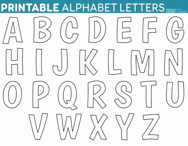 Alphabet Cut Out Letters Awesome Printable Cut Out Letters Alphabet