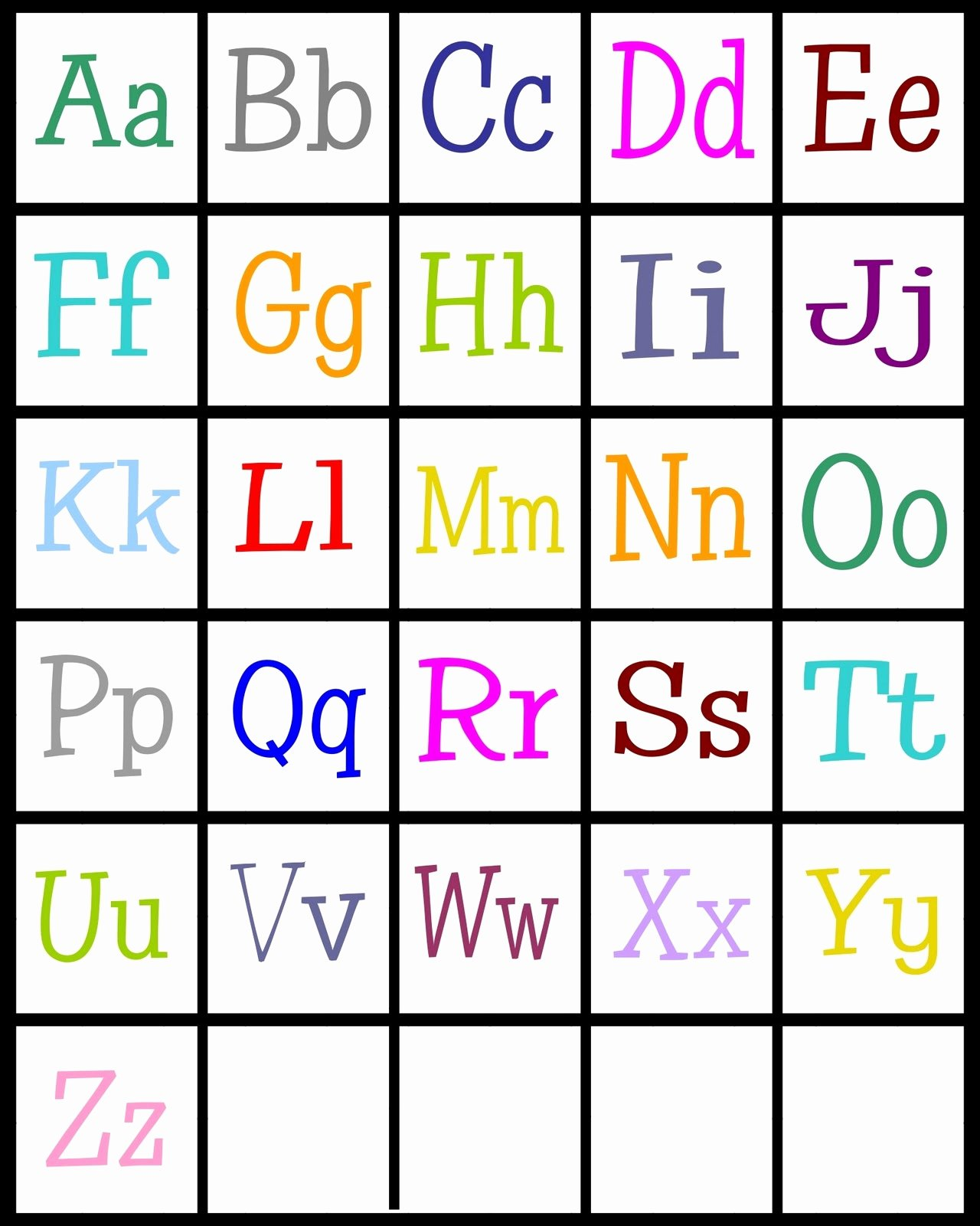 Alphabet Cut Out Letters Best Of Abc Printable for Children