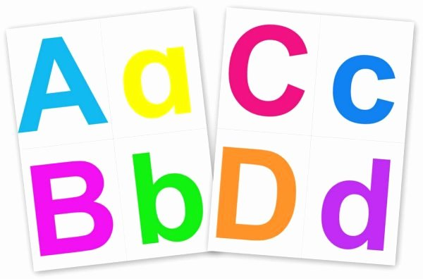 Alphabet Cut Out Letters Inspirational Printable Alphabet Letters