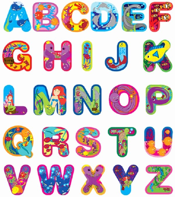 Alphabet Cut Out Letters New Capital Letters Alphabet