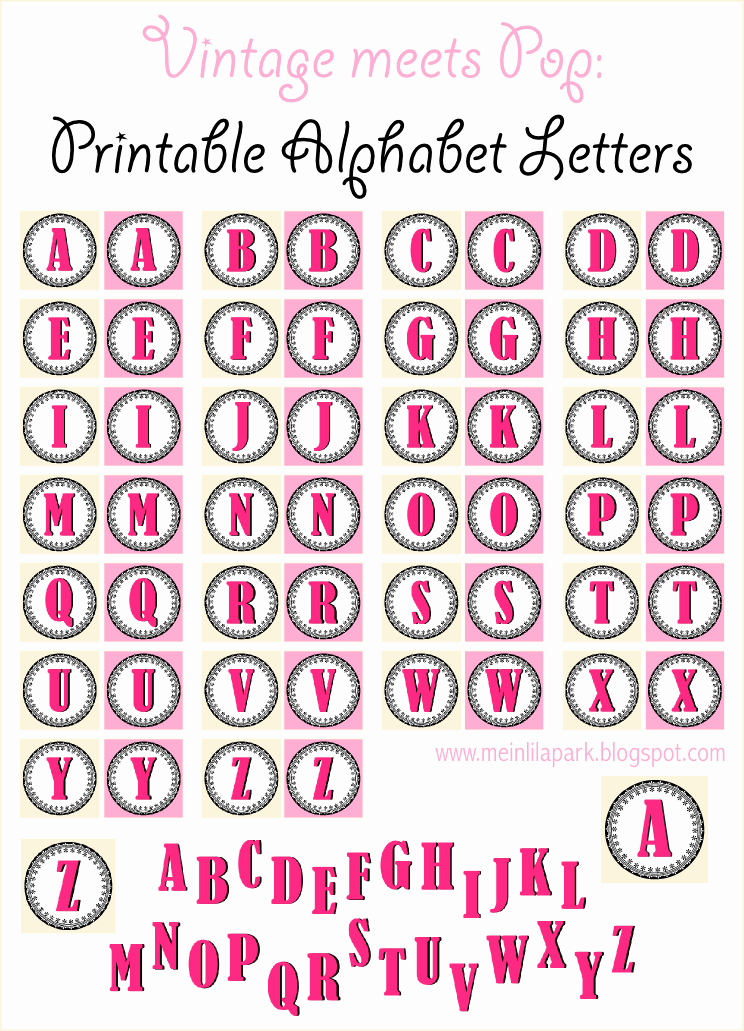 Alphabet Letters to Print Free Best Of Free Printable Vintage ornament Alphabet Letters