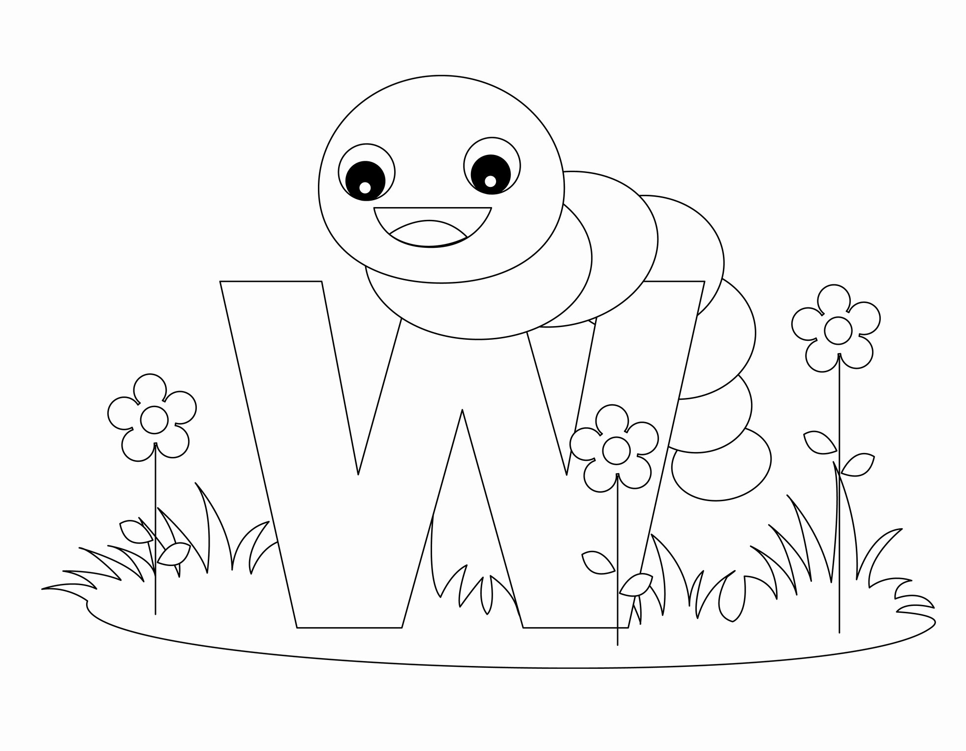 Alphabet Letters to Print Free Elegant Free Printable Alphabet Coloring Pages for Kids Best