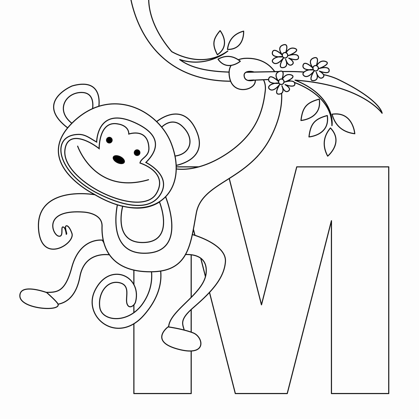 Alphabet Letters to Print Free Inspirational Free Printable Alphabet Coloring Pages for Kids Best
