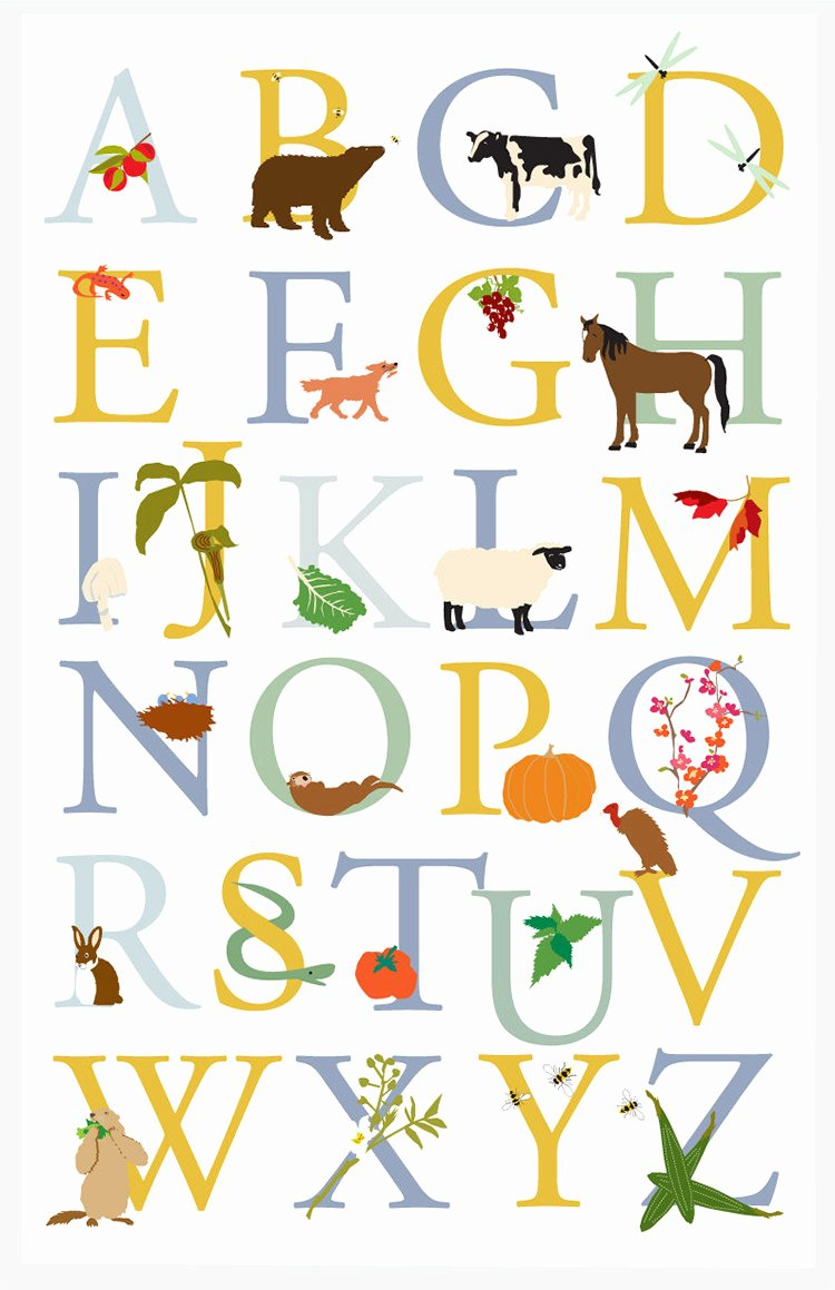 Alphabet Letters to Print Free Lovely 35 Best Printable Alphabet Posters & Designs