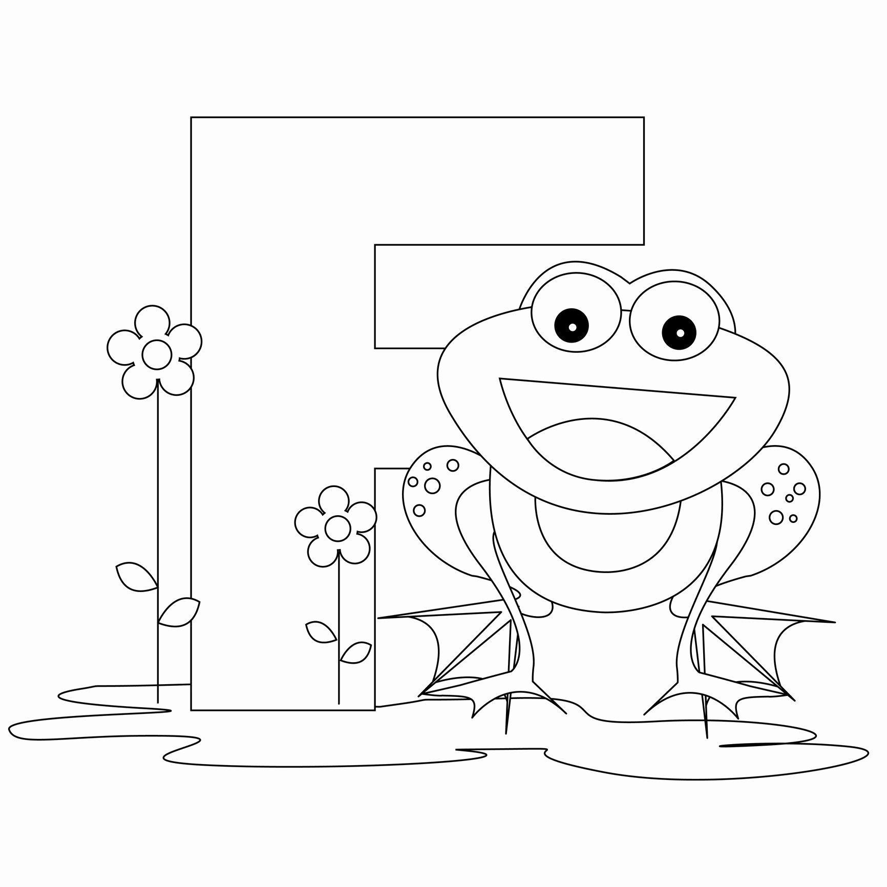 Alphabet Letters to Print Free Unique Free Printable Alphabet Coloring Pages for Kids Best