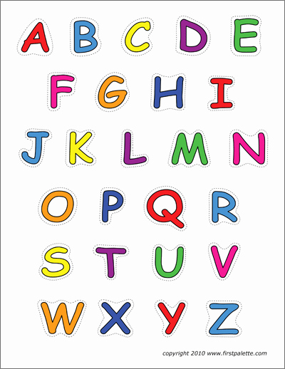 Alphabet Letters with Pictures Best Of Alphabet Upper Case Letters
