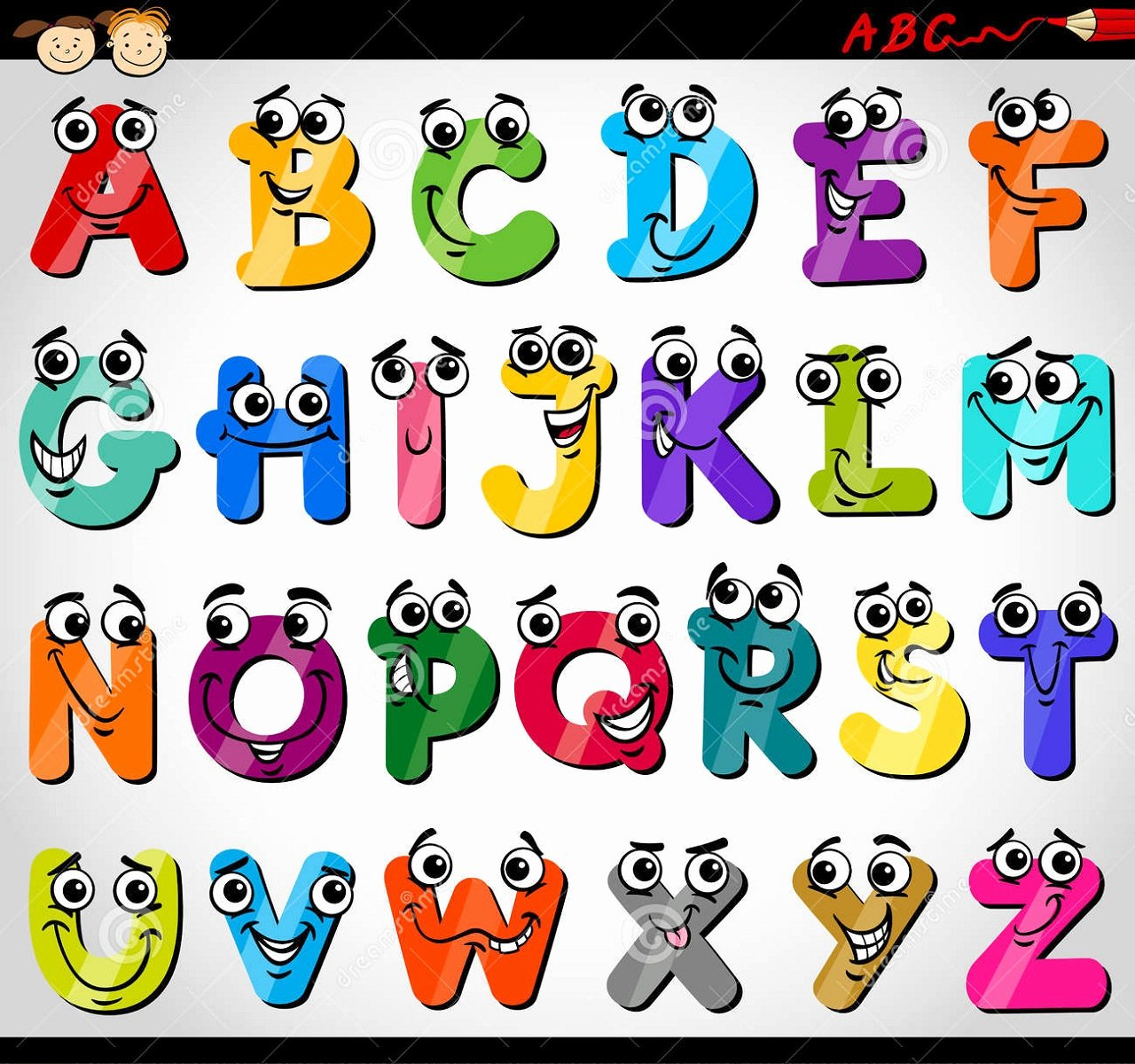 Alphabet Letters with Pictures Best Of Capital Letters Alphabet for Kids