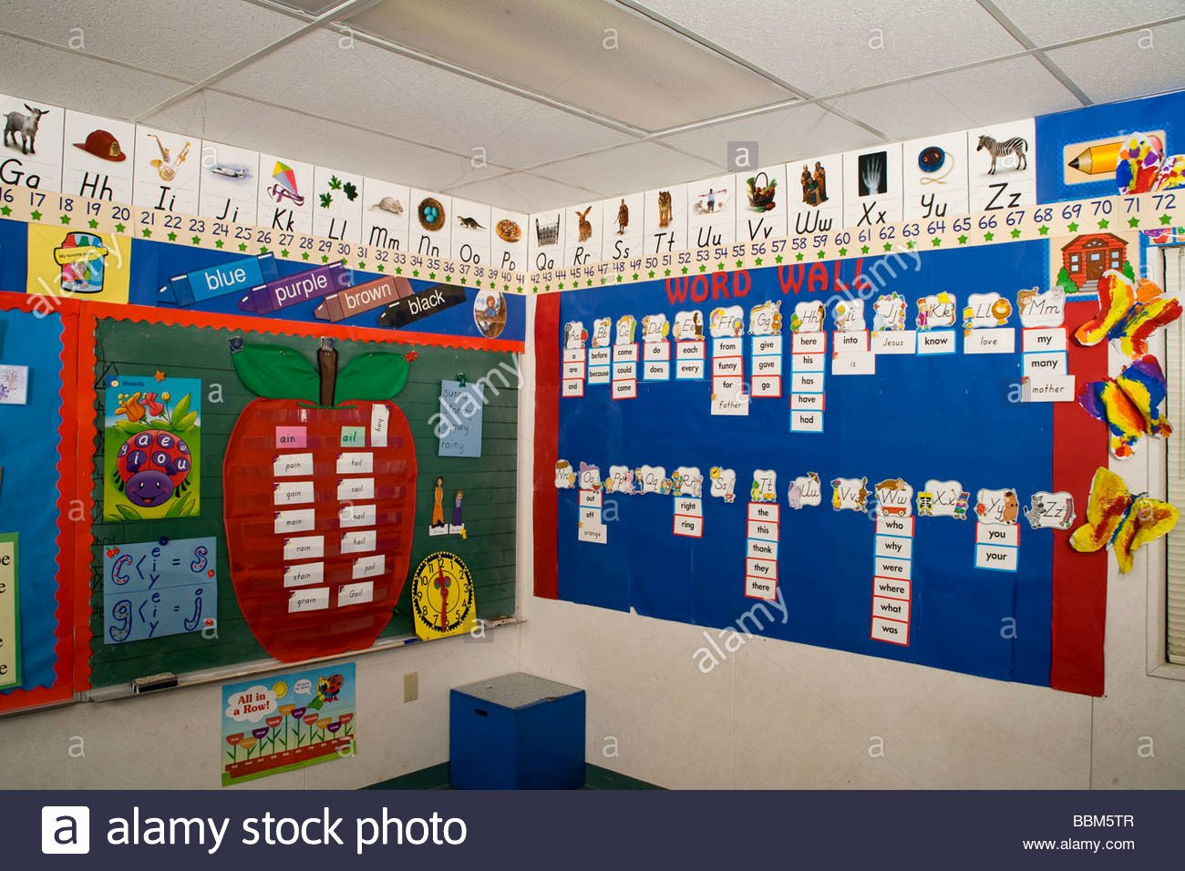 Alphabet Poster for Classroom Awesome Alphabet Posters Displayed In Kindergarten Classroom