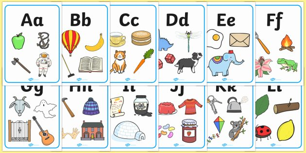 Alphabet Poster for Classroom Awesome Free Alphabet Display Posters Alphabet Freize